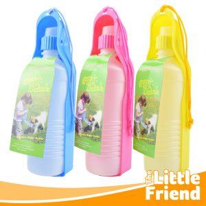 botol minum polos portable travel anjing kucing 1