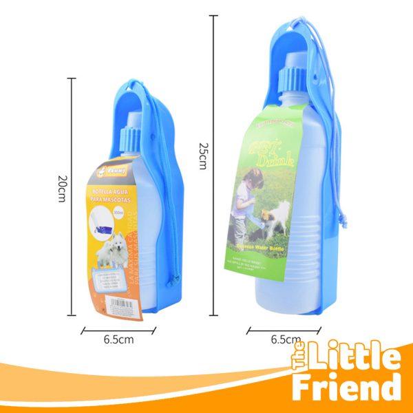 botol minum polos portable travel anjing kucing 3