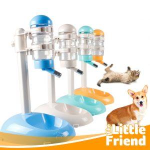 botol tempat minum bulat pet water feeder berdiri 4