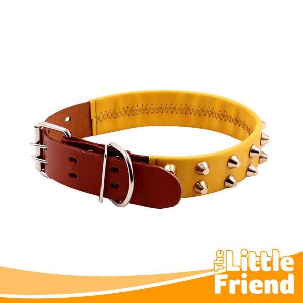 collar kulit kalung anjing variasi duri spike 2