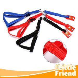 leash tali tuntun anjing tali dada foam 1
