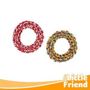 mainan anjing kucing tali lingkaran 2
