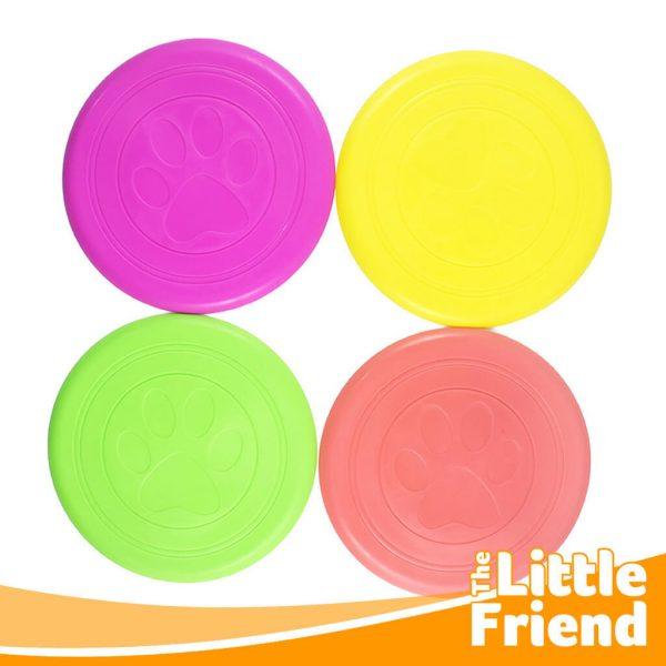 mainan anjing lempar tangkap frisbee 2