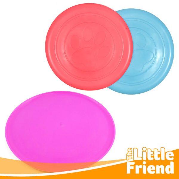 mainan anjing lempar tangkap frisbee 3
