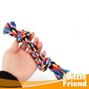 mainan gigitan anjing kucing tali tambang 1