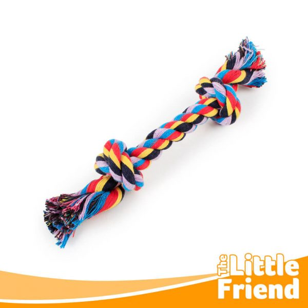 mainan gigitan anjing kucing tali tambang 2