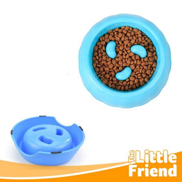 mangkuk makan slow feeder anjing kucing 2