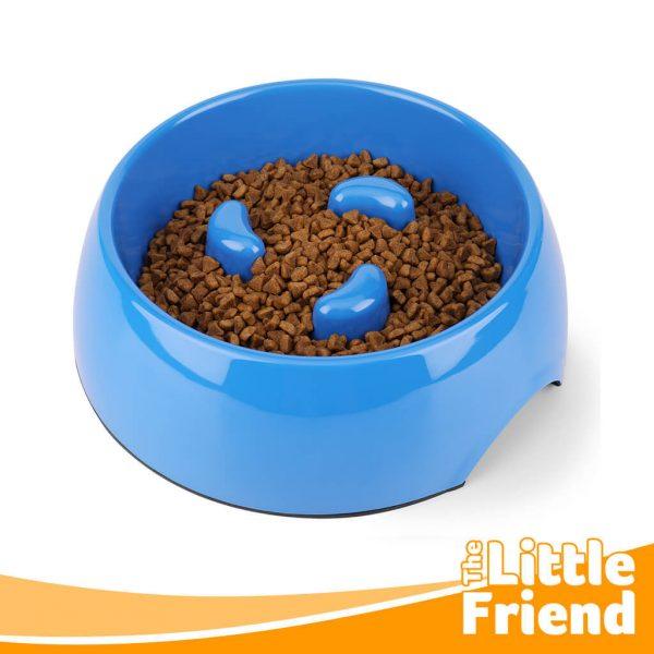 mangkuk makan slow feeder anjing kucing 3