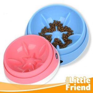 mangkuk tempat makan slow feeder anjing kucing 1
