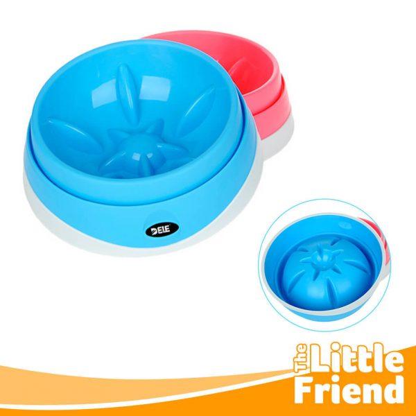 mangkuk tempat makan slow feeder anjing kucing 3