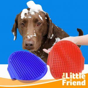 sikat mandi karet anjing kucing 1