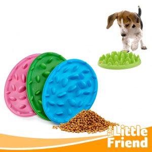 slow feeder piring tempat makan anjing kucing 1