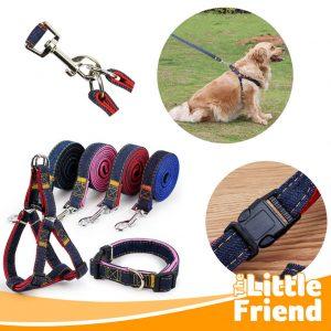 tali tuntun leash anjing jeans 1