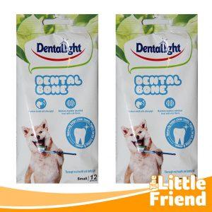 denta light dental bone snack penghilang bau mulut anjing 1