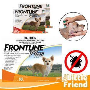 obat anti kutu frontline plus 10kg 1