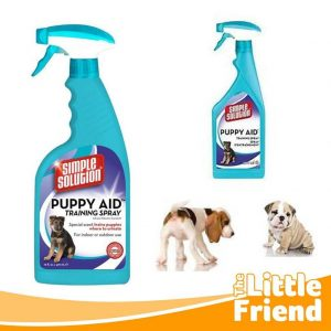 simple solution puppy aid attractant training spray 1