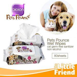 bioion pets pounce wet wipes 1