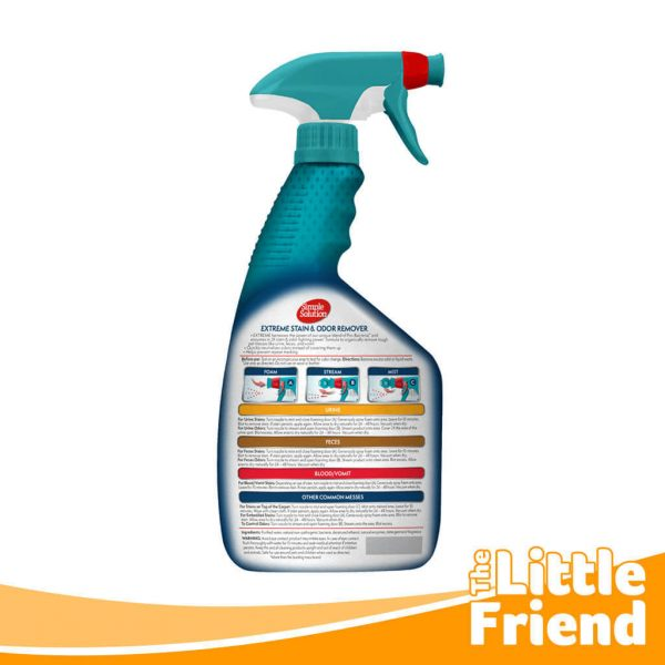simple solution extreme stain odor remover 2