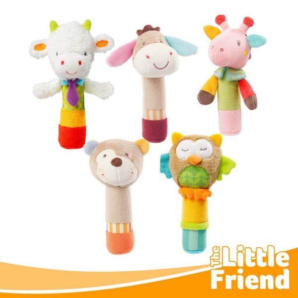 mainan boneka gigitan anjing karakter 3